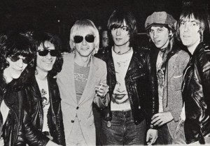 Iggy Pop and the Ramones, by Roberta Bayley