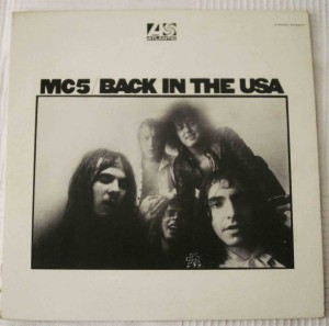 Back in USA MC5 Portada