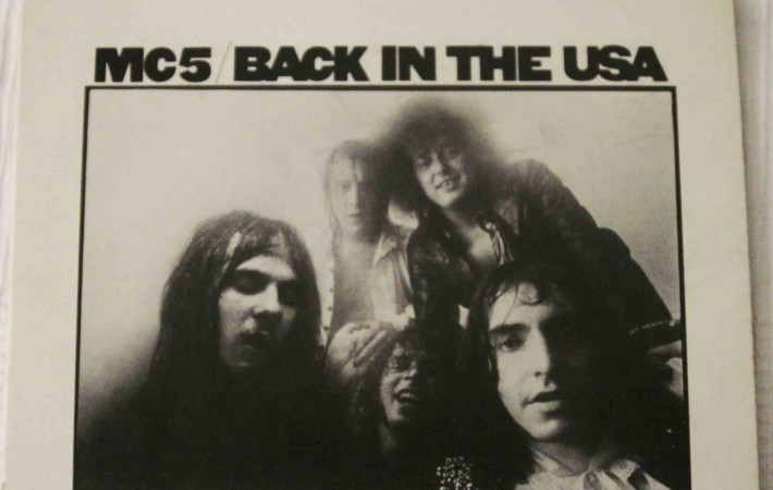 Back in USA MC5 Portada vinilo