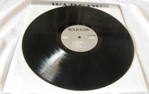 joy division warsaw label