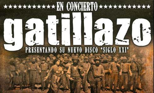 Concierto Gatillazo en Zaragoza