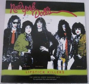 New York Dolls Lipstick Killers Vinilos Blank Generation
