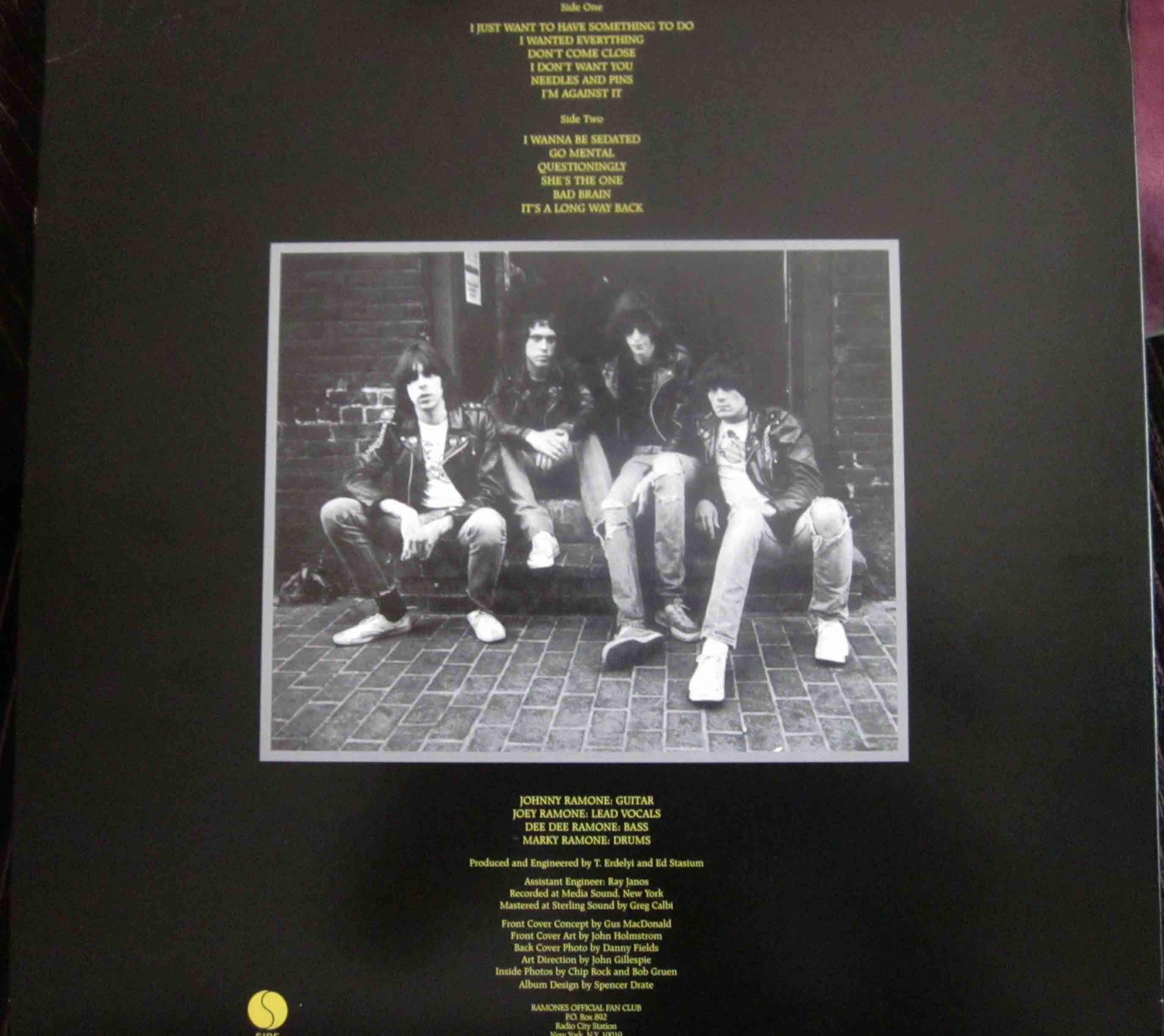 Ramones Road To Ruin Vinilos Blank Generation