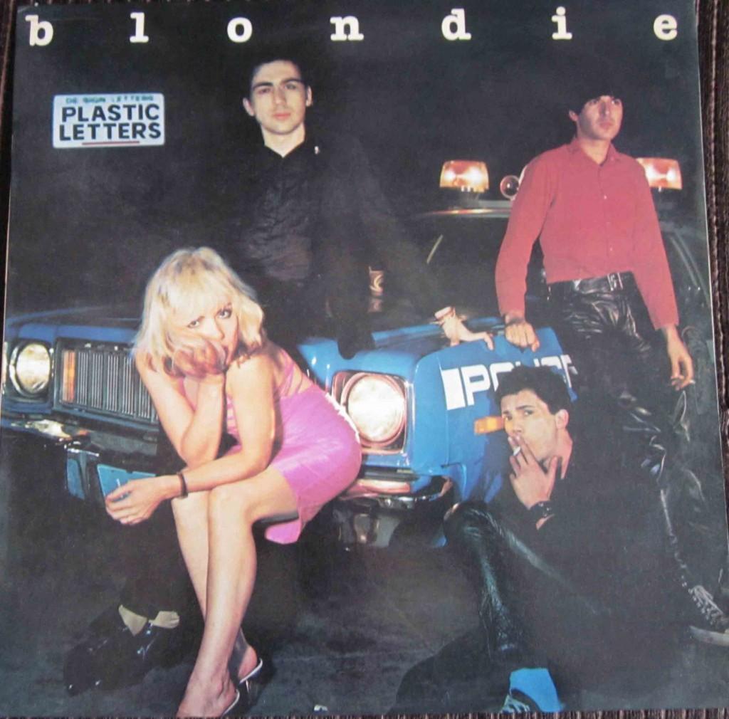Blondie Plastic Letters Vinilos Blank Generation