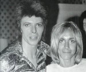Iggy Pop y David Bowie