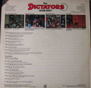 The Dictators - Go Girl Crazy vinilo