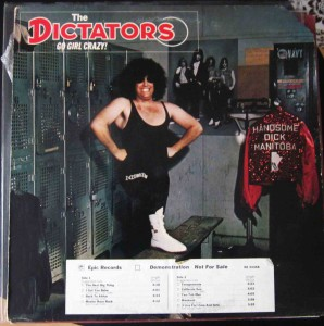 The Dictators - Go Girl Crazy vinilo