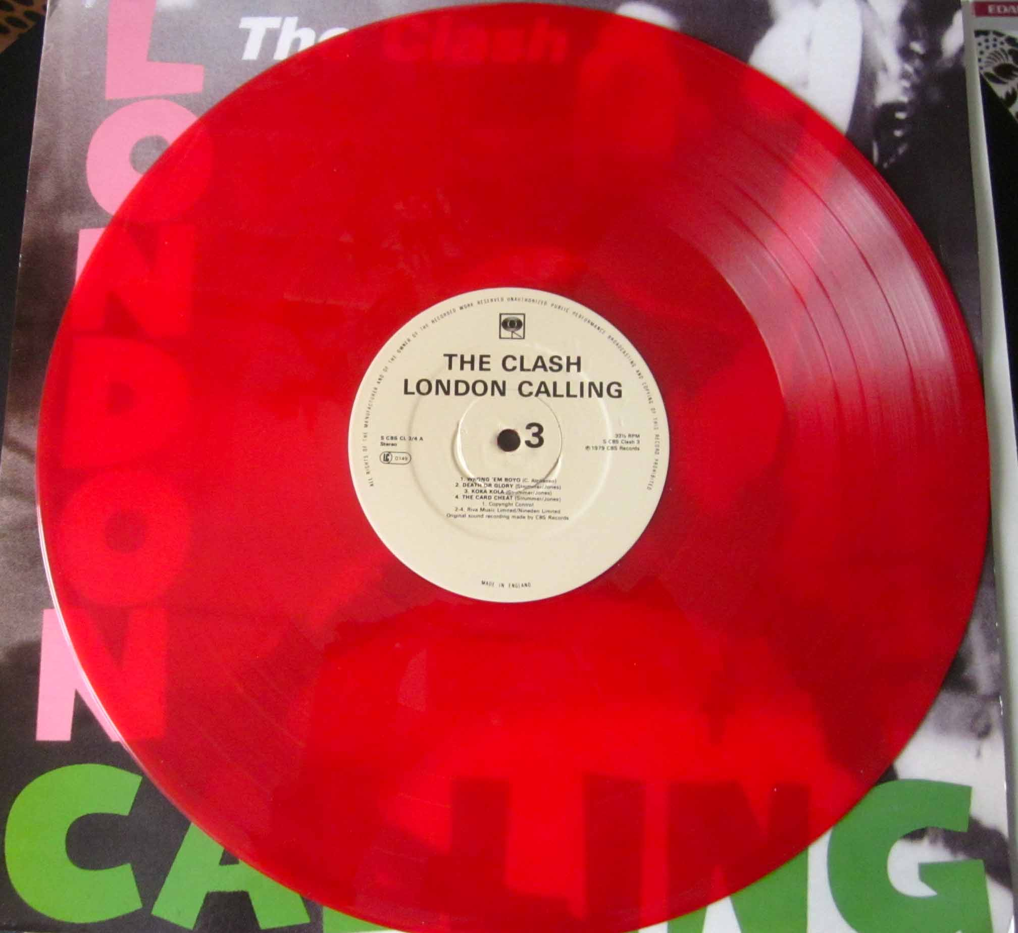 The Clash London Calling Vinilos Blank Generation