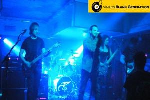 Lágrimas de Isis - concierto Sala Roxy Zaragoza