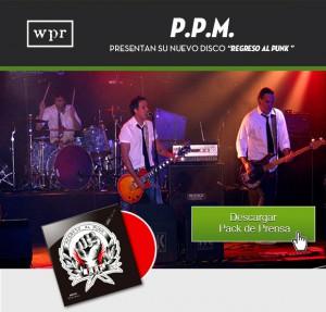 regresamos al punk PPM wild punk records