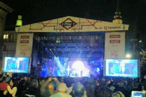 niños del brasil escenario concierto despedida