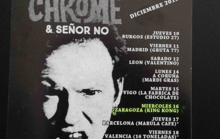cartel concierto Zaragoza cheetah chrome.jpg