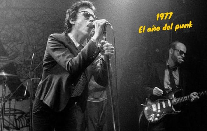 1977 año punk discos vinilos