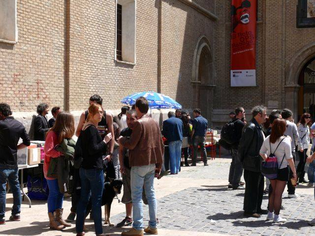 plaza para la música y el arte Zaragoza vinilos