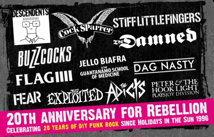 Rebellion Punk Music Festival 2016