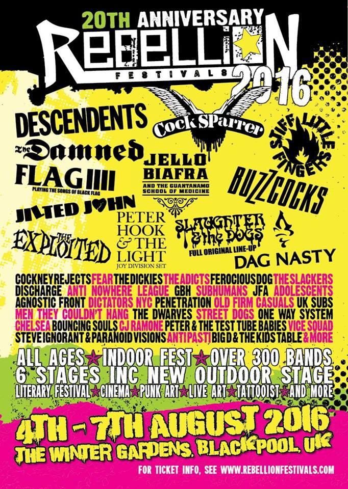 Rebellion Festivals punk