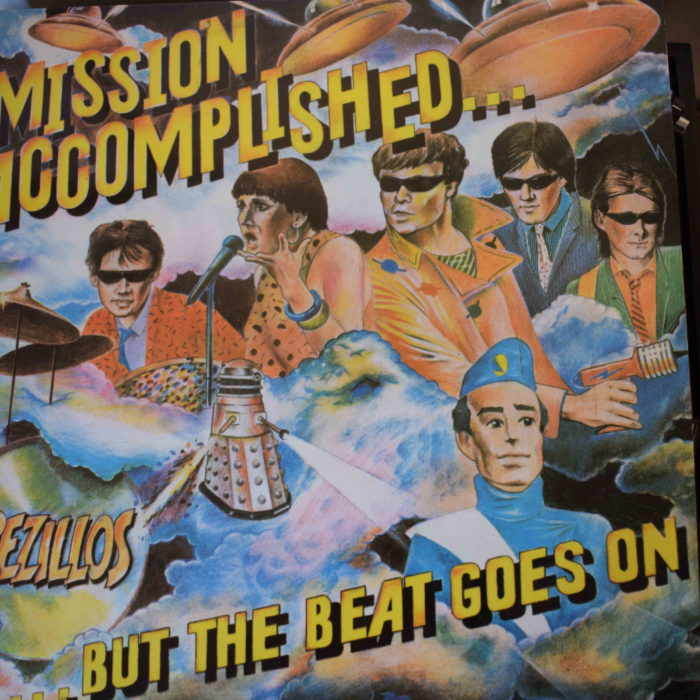 The Rezillos Mision Accomplished disco vinilo