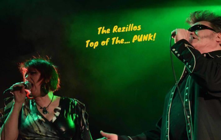 The Rezillos punk rocks concierto