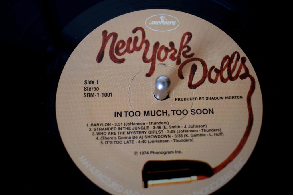 Too Soon: New York Dolls 5