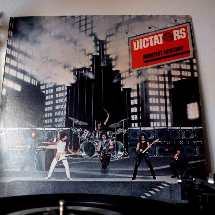 Manifest Destiny: The Dictators Asylum Records K 53061 UK 1977