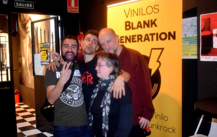 vinilos blank generation harlem rock cafe 14