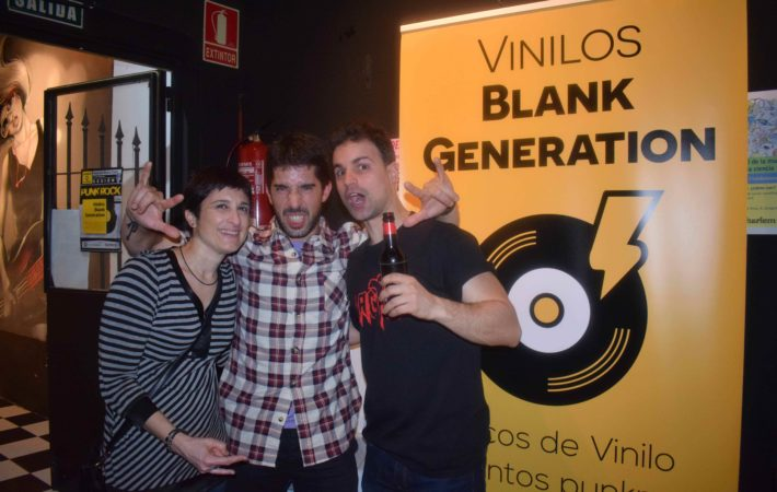vinilos blank generation harlem rock cafe 4
