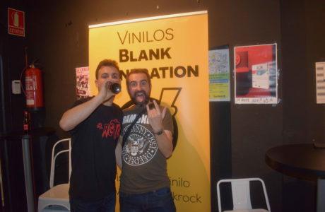 vinilos blank generation harlem rock cafe 6