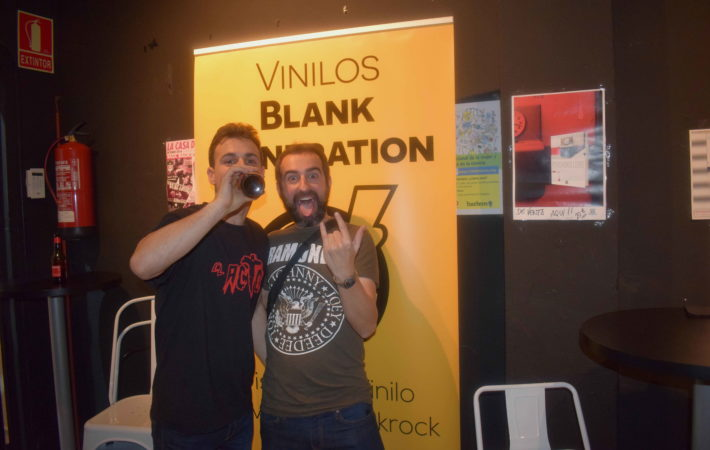 vinilos blank generation harlem rock cafe 6