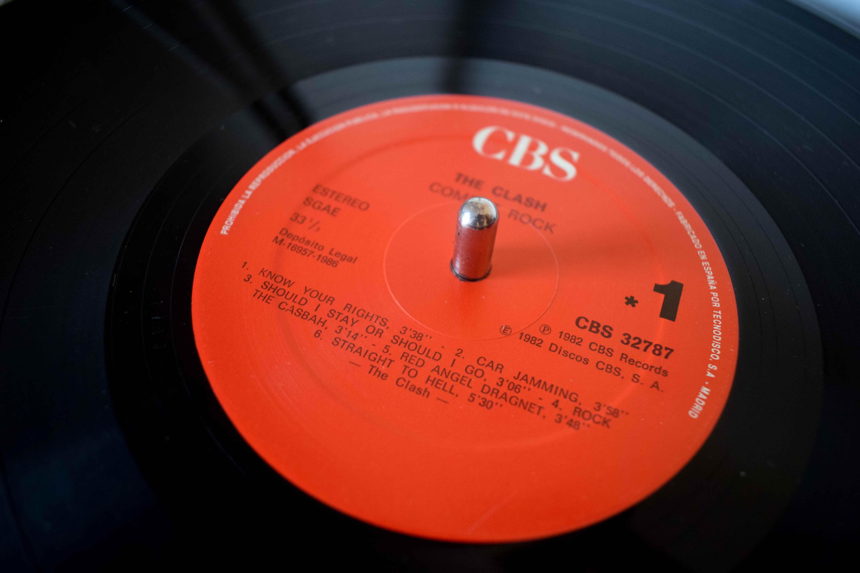 Combat Rock The Clash Cbs 32787 Espa 241 A 1982