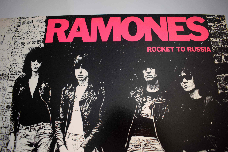 Rocket To Russia Ramones Sire Records Sr 6042 Usa 1977