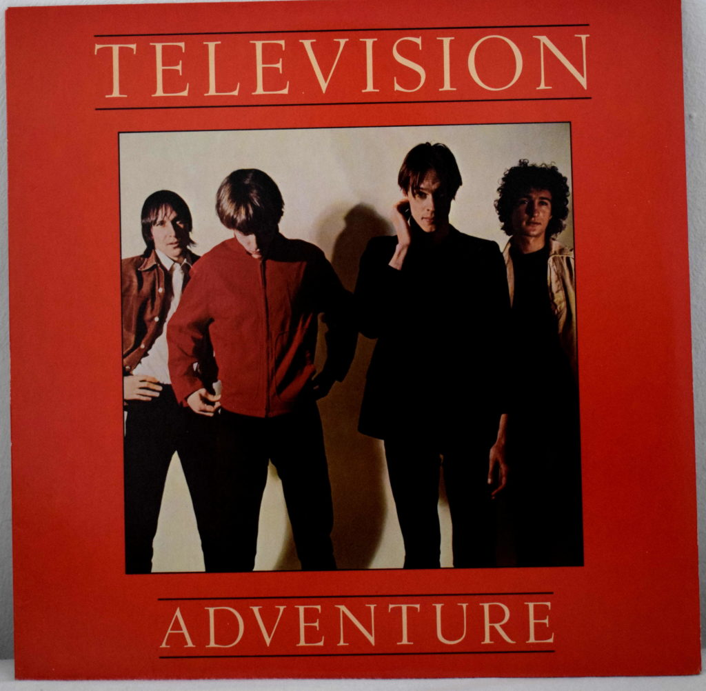 television adventure portada vinilo