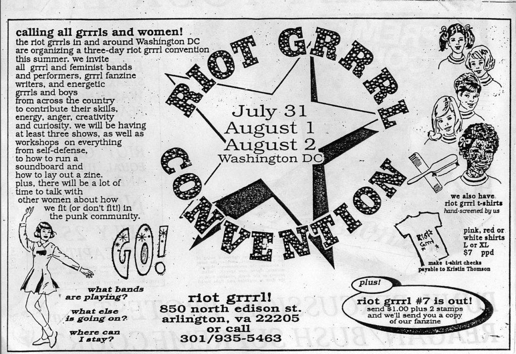 RIOT GRRRLS movimiento punk femenino