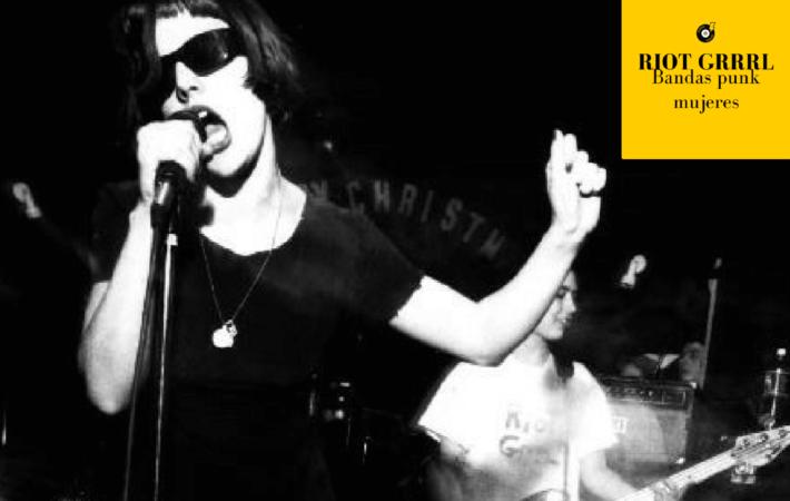 RIOT GRRRL punk femenino grupos punk mujeres