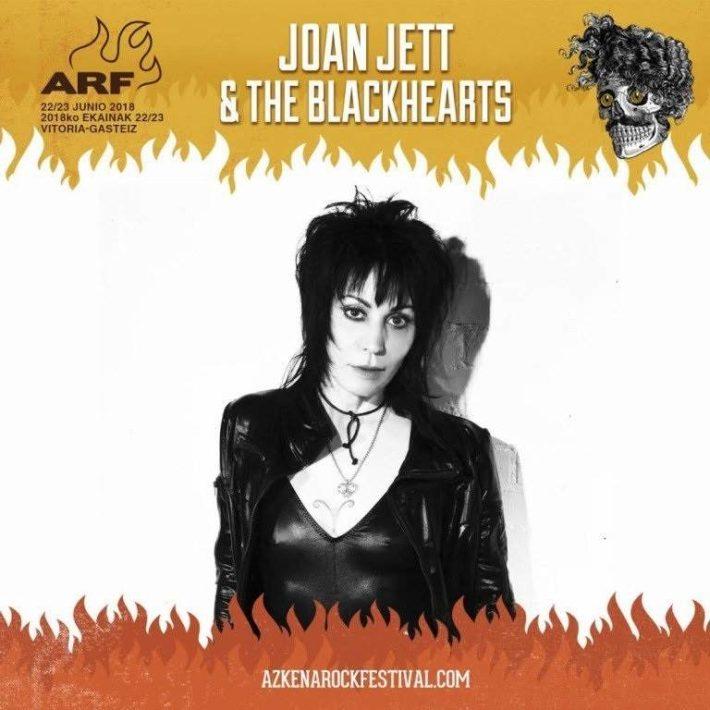 Joan Jett en Azkena Rock