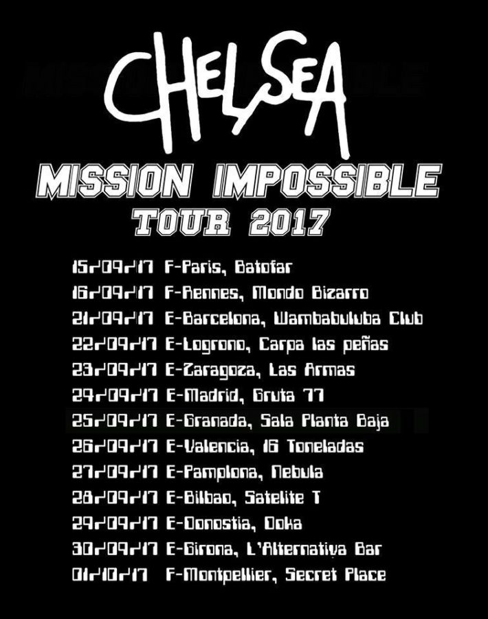 chelsa conciertos españa 2017