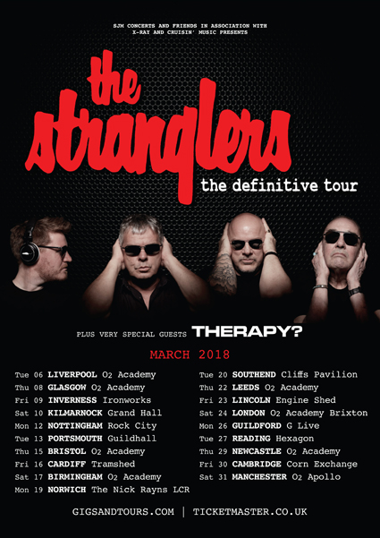 The Stranglers Tour Uk 2018