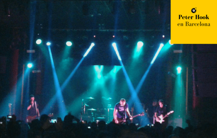 Peter Hook en Barcelona concierto