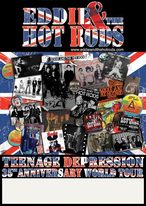 eddie and the hot rods gira despedida
