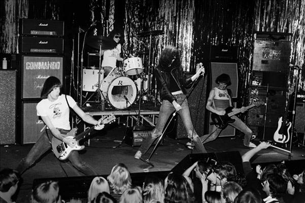 Ramones at the Whisky a Go Go, Feb 1977
