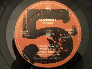 sandinista the clash label3