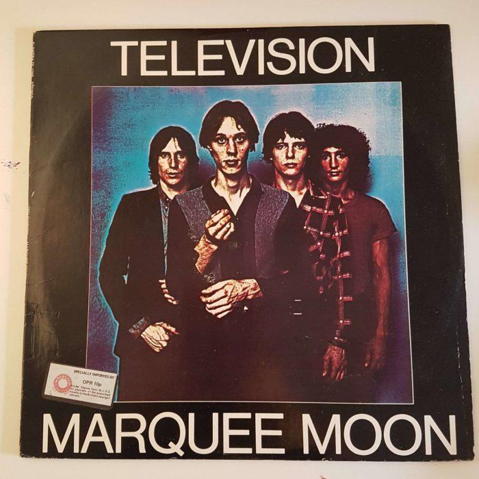 television marquee moon vinilo portada