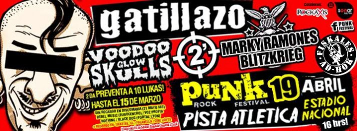 punk rock festival chile