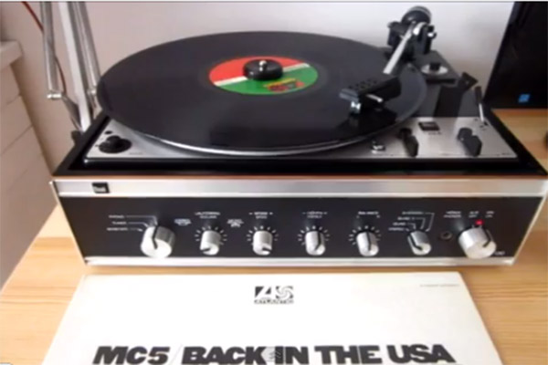 suena vinilo american ruse mc5