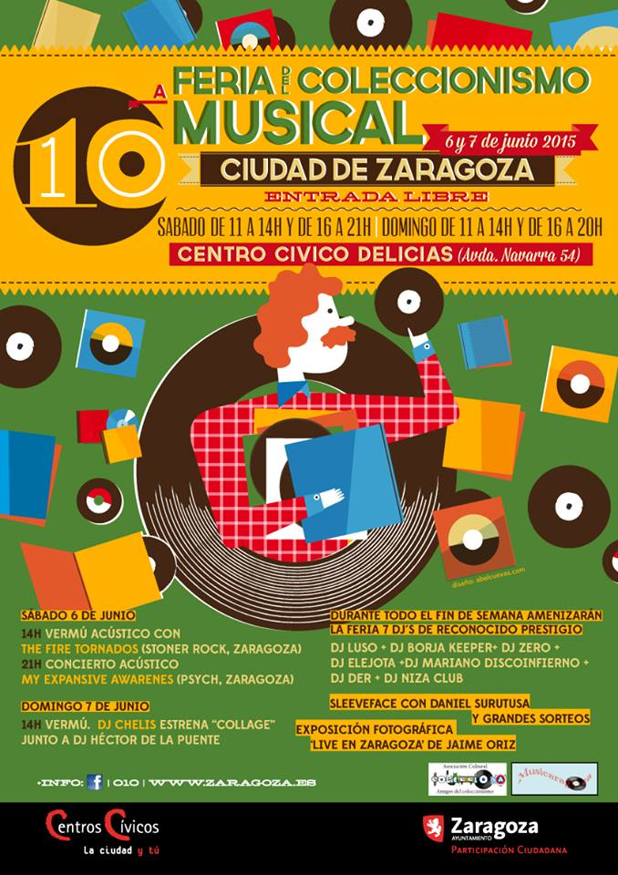 feria coleccionismo musical Zaragoza