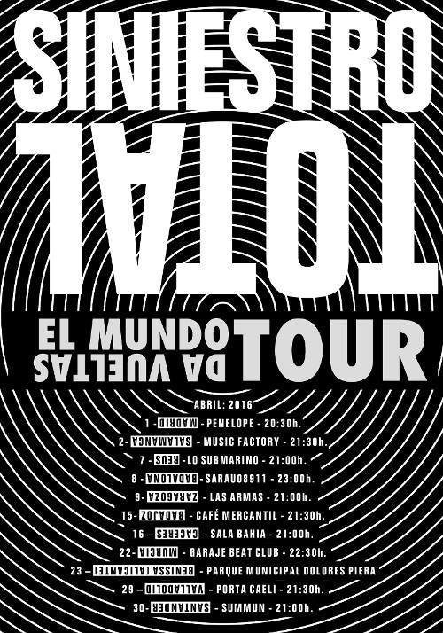 Siniestro Total concierto Las Armas Zaragoza