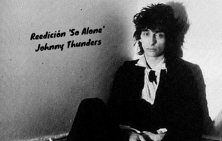 reedición vinilo johnny thunders so alone disco