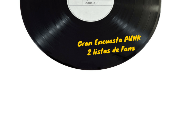 Gran Encuesta Punk Fans: 2 listas punk de seguidores de Vinilos BG