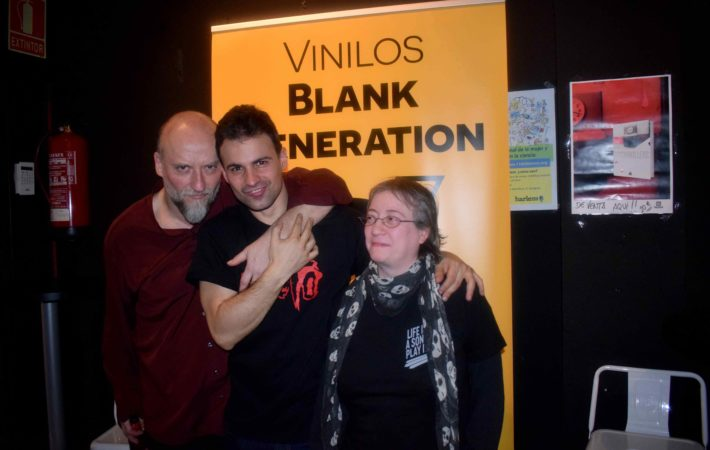 vinilos blank generation harlem rock cafe 13