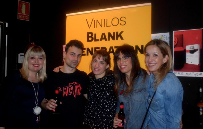 vinilos blank generation harlem rock cafe 8