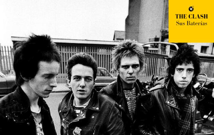 The Clash Miembros baterias
